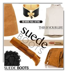 """Boots"" by soks ❤ liked on Polyvore featuring Coccinelle, TIBI, Urban Decay, Stuart Weitzman, Juicy Couture, Bershka and polyvoreeditorial"