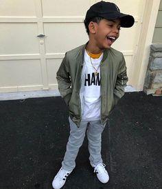 My fly guy Tru💚 Toddler Boy Fashion, Cute Kids Fashion, Little Boy Fashion, Toddler Outfits, Baby Boy Outfits, Kids Outfits, Baby Boy Swag, Cute Baby Girl, Cute Babies