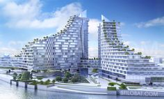 Business center  Architect: Dmitry Chvanin  Location: Ukraine Area: 1 230 000 m 2 Year: 2011