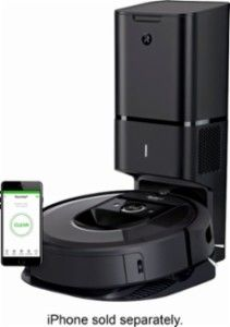 Irobot Roomba I7 Wi Fi Connected Robot Vacuum With Automatic Dirt Disposal Charcoal I755020 With Images Irobot Irobot Roomba Roomba