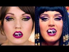 Katy Perry - Dark Horse Music Video Makeup Tutorial