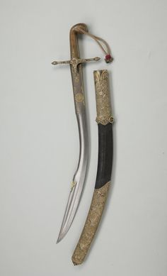"Ottoman kilij, this is the short version known as ""pala""."