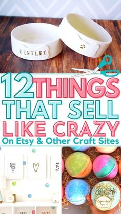 Easy Crafts To Sell, Money Making Crafts, Sell Diy, Etsy Business, Craft Business, What To Sell, How To Make Money, Sell On Etsy, What Sells On Etsy