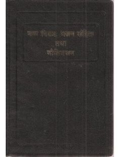 The New Testament with Psalms and Proverbs - Hindi Language Edition - O. Re-edited
