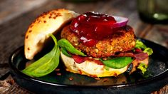 DAGENS RETT: Med en slik burger er kjøttfritt uproblematisk - Aperitif.no