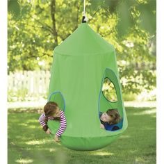 Cool Outdoor Swings and Hide-outs for Kids - HugglePod HangOut