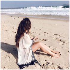 Brazilian Summer #brasil #summer #travel #riodejaneiro #beach #ipanema #hair #beachhair #summerstyle