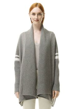Wrap it up: M.PATMOS cashmere cardigan, available at Club Monaco