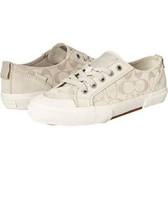 Normally not a fan of coach sneaks, but these are cute