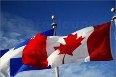 Das Wahrzeichen Kanadas ist der Ahorn. Als rotes Laubblatt ist er auch auf der Flagge des nordamerikanischen Landes zu sehen. Mit einer Fotoleinwand können Kanada-Fans die Flagge auch in den eigenen vier Wänden hissen.