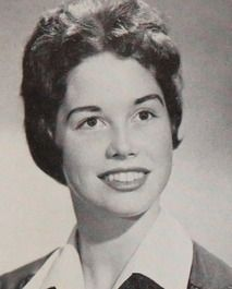 Actress Mary Tyler Moore in her Senior yearbook at Immaculate Heart High School in Los Angeles, California.  ... before she was famous