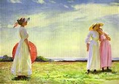British Paintings: Dame Laura Knight - In the Fields
