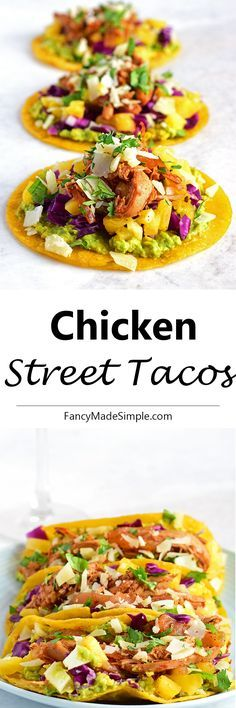 This chicken street taco recipe is amazing. This simple and easy recipe will become a new go-to.