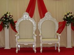 King And Queen Throne Chairs For Rent Chairs For Rent, Chairs For Sale, Stylist Chair, Queen Chair, Seating Arrangement Wedding, Wedding Ceremony Chairs, Modern Desk Chair, Throne Chair, Children Images