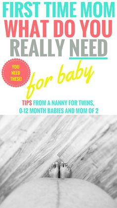 Baby Registry Checklist - What You Really Need as a first time mom for baby