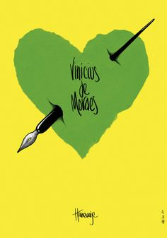 Homenaje a Vinicius de Moraes by Elmer Sosa, via Behance