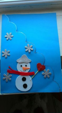 This Pin was discovered by Yas Winter Crafts For Kids, Art For Kids, Preschool Crafts, Diy Crafts, Puppet Crafts, Christmas Crafts, Christmas Ornaments, Creative Workshop, Art Activities