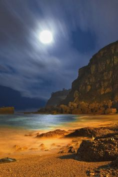 Amazing Snaps: Estano Beach, Spain Gah, so cool. Places Around The World, The Places Youll Go, Places To See, Around The Worlds, Paraiso Natural, Spain And Portugal, To Infinity And Beyond, Beautiful Beaches, Oeuvre D'art