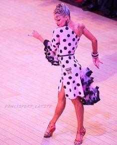 """Yulia & Riccardo (@dancesport_lat.std) on Instagram: """"Girly #dancesport #latindance #latindancing #latin #dance #dancing #ballroomdance…"""""""