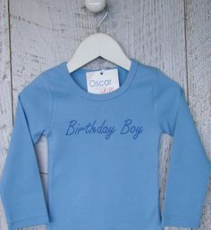 Personalised baby clothing - rompers, tee-shirts, singlet's, name king sets, and tees (long sleeve and short) brought to you by Mi Emporium. Long Sleeve And Shorts, Long Sleeve Tee Shirts, Boy Birthday, Graphic Sweatshirt, Rompers, Babies, Sweatshirts, Boys, Clothing