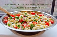 Home made food is always more preferable. What do you think?