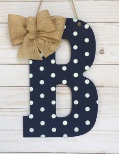 Best Ideas For Spring Door Decorations Dorm Products Monogram Wall Letters, Door Letters, Painting Wooden Letters, Letter Wall, Decorative Letters For Wall, Chevron Painted Letters, Wood Letters Decorated, Diy Monogram, Letter Door Hangers