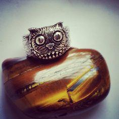 Cheershire Cat Ring Alice in Wonderland