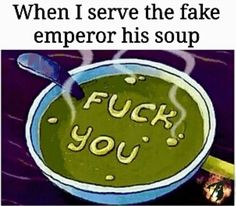 The Dark brotherhood quest, serving the fake emperor his poisoned soup