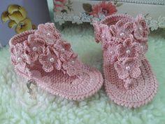Rasteirinha Sakura Baby | A Pequena Centopéia Sapatinhos | Elo7