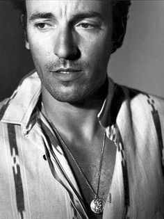 bruce springsteen -- My music idol, I've just missed on an occasion or two.