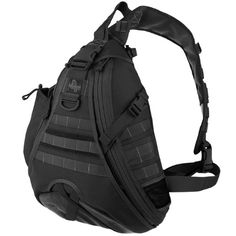 Monsoon Gearslinger Tactical Backpack, Black Cross Sling Hunt Every Day Gear Bag Type - Tactical Gear Bag, UPC - 846909001492 Tactical Packs, Tactical Backpack, Hiking Backpack, Backpack Bags, Oakley Backpack, Tactical Sling, Backpacking Gear, Hiking Gear, Survival Prepping