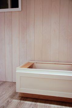 Rambling Renovators: Part II: DIY Whitewashed Plank Walls