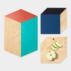 3-D Shape Cutting Boards