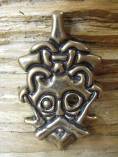 Odin face pendent viking erra by torfin on Etsy, $25.00