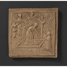 Terra cotta mould, c. 1450. Rhineland Germany. For pastries or other things.