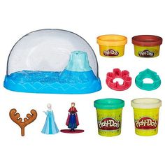 Disney's Frozen Play-Doh Sparkle Snow Dome by Hasbro #Kohls #FrozenFriday