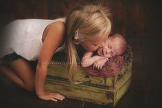 newborn sister