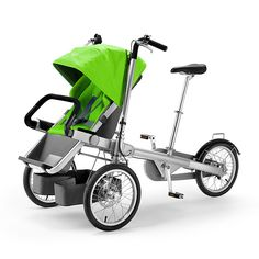 Taga combines the fun of a cargo bike with the functionality of a luxury stroller. Taga enables you to spend quality time with your child while you ride safely and get a great workout. In seconds, Taga goes from super fun, safe and maneuverable bicycle to designer stroller that easily navigates stores, boards trains and slides into elevators.   https://www.theapollobox.com/product/sku364/taga-bike-stroller?utm_source=cj&utm_campaign=12518355-8097158&source=cj