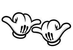 Manos Mickey Hand Loqueron