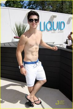 David henrie with stripper