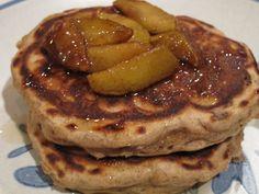 Apple-cinnamon Shrove Tuesday pancakes