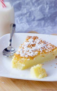 Crustless Custard Pie