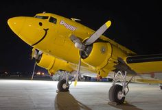 The DUGGY Douglas DC-3  Smile and have a nice day!