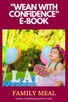 """The Easiest Starting Solids e-Book """"Wean With Confidence"""". #startingsolidfood #ebook #weaning #babyfood #babyfoodideas #babyrecipes Weaning Plan, Weaning Guide, Baby Led Weaning, Homemade Baby Puree Recipes, Baby Recipes, Pureed Food Recipes, Starting Solids, 6 Month Old Baby, Healthy Eating Habits"""