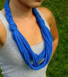 Etsy tshirt scarves | Tshirt Scarf Braided Scarf Infinity Scarves by Scarvesbystephy, $18.00