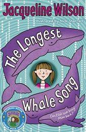 The Longest Whale Song by Jacqueline Wilson. Ella's mum is in a deep coma, having just had a new baby. That means Ella has to live with Jack, her hopeless stepfather, and cope with her tiny newborn brother, as well as worrying about Mum. I Love Books, Good Books, Books To Read, My Books, Amazing Books, Jacqueline Wilson Books, Whale Song, Maya Angelou Quotes, Bedtime Stories