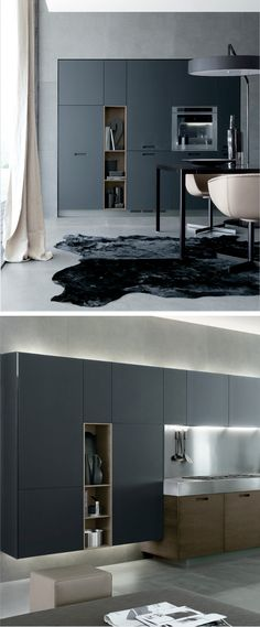 State-of-the-art kitchen design inspiration byCOCOON.com #COCOON Dutch designer #LGLimitlessDesign & #Contest