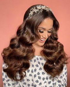 Down Hairstyles, Wedding Hairstyles, Glamorous Hairstyles, Hair Couture, Wedding Hair Down, Getting Married, Bridal Hair, Waves, Glamour