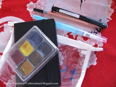 Norah'S: Gift Idea for your favorite Artist: watercolors to go bag