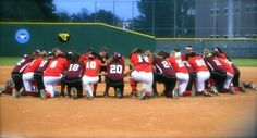 Players in Texas form a prayer circle for Umpire that had a heart attack during a softball game.  The umpire passed away but died doing what he loved.  I usually pray for the safety of the players in the game but this is a reminder to pray for ALL involved.